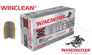 Winchester .357 Magnum WinClean, TFMJ 125 Grain Box of 50 #WC3571