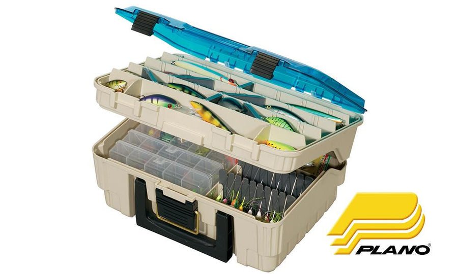 Plano 1349-00 Tackle Box Medium Two Level Magnum Satchel