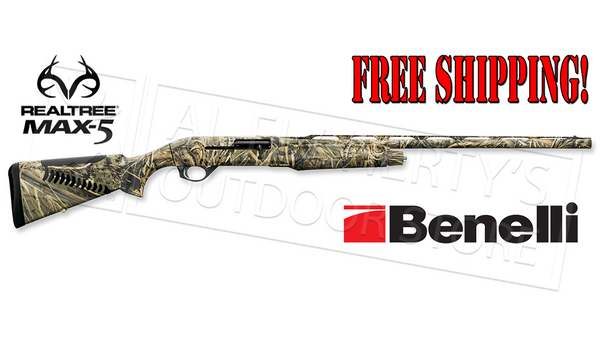 Benelli M2 Field Shotgun with Comfortech Max4 Camo #11101