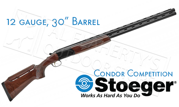 "Stoeger IGA Condor Competition Over-Under, 12 Gauge, 3"" Chamber, 30"" Ported Barrel w/Adjustable Comb #31045"