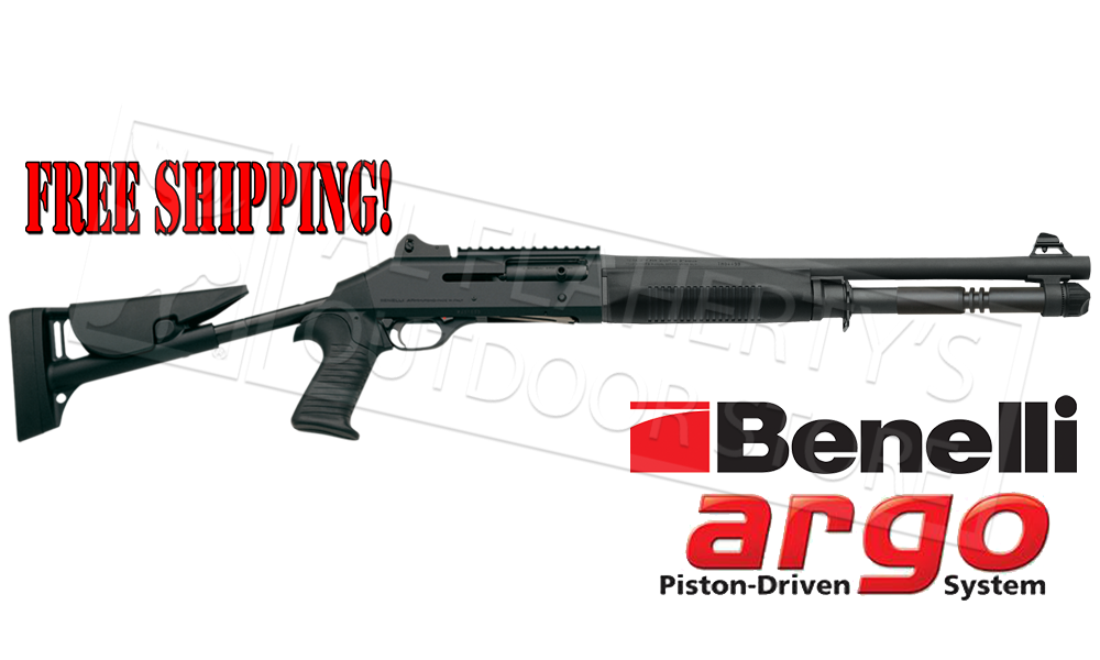 "Benelli M4 Tactical Shotgun, 18.5"" Barrel, Telescoping Stock #11707"