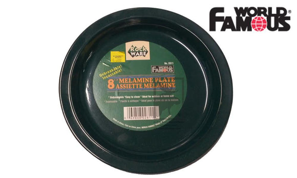 "World Famous Rockware Plate, 8"" #2811"