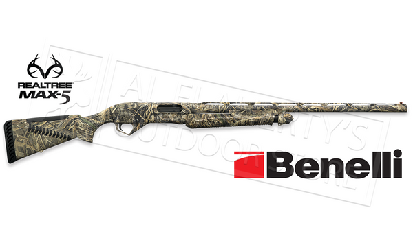 "Benelli Super Nova 12 Gauge, 28"" Barrel, 3.5"" Chamber, Max4 Camo with ComforTech #20115"