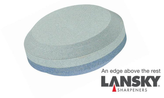 Lansky Dual Grit Sharpener - The Puck #LPUCk