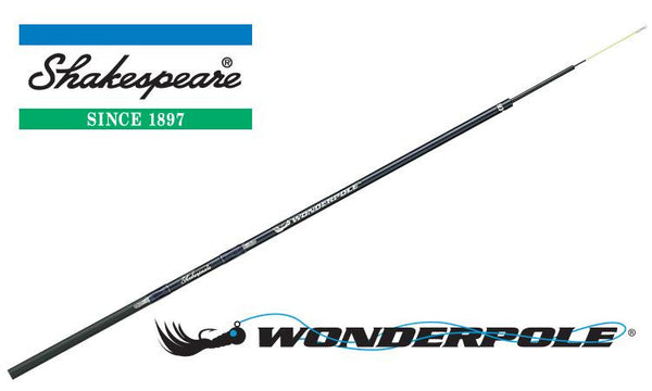 Shakespeare Wonderpole Telescopic Rod, 20ft with Line Keeper #TSP20
