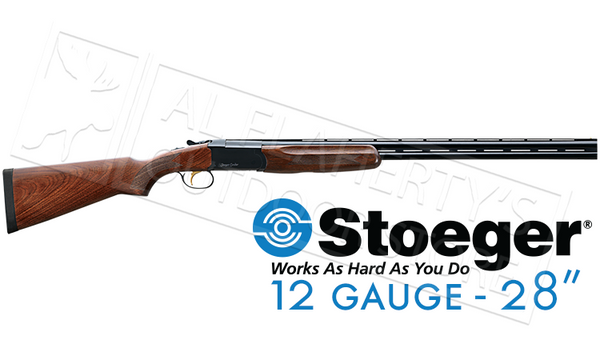 "Stoeger IGA Condor Field Over-Under, 12 Gauge, 3"" Chamber, 28"" Barrel #31030"