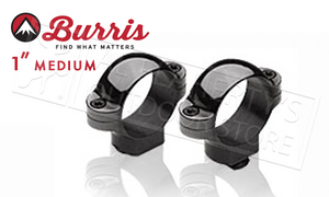 "Burris Standard Rings 1"" Medium Matte 420052"