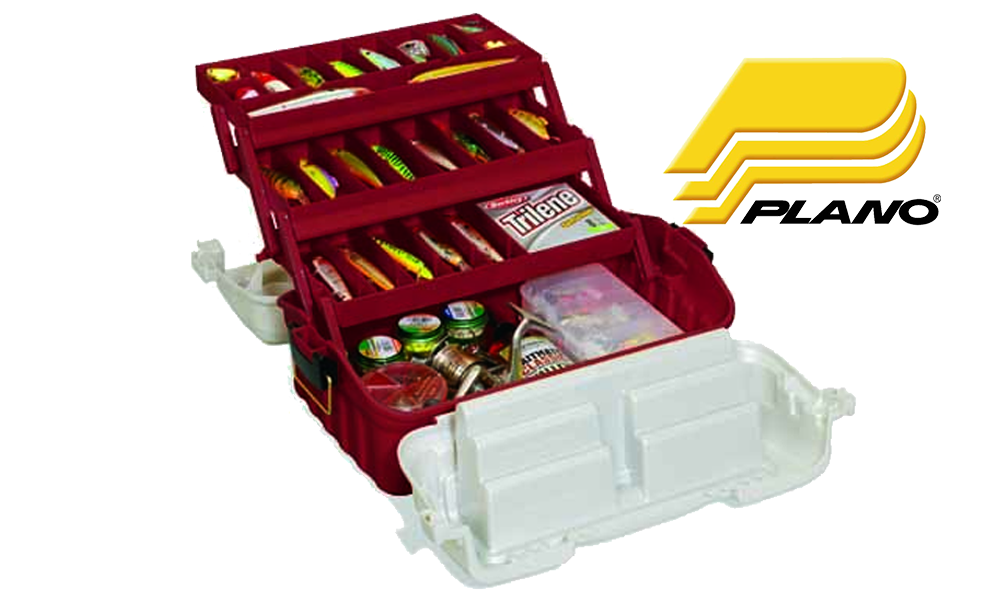 Plano 7603-01 Three Tray Flipsider Tackle Box