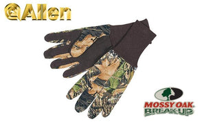 Allen Jersey Gloves Mossy Oak Break-Up #1453
