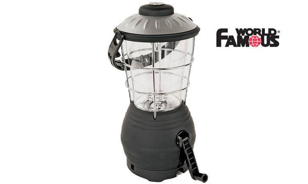 World Famous Dynamo Crank-Up LED Lantern #2080