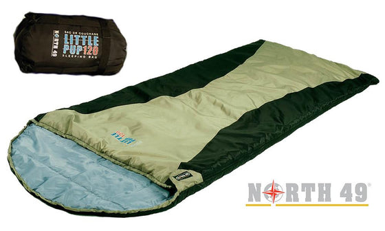 North 49 Little Pup 120 Lightweight Sleeping Bag #5894