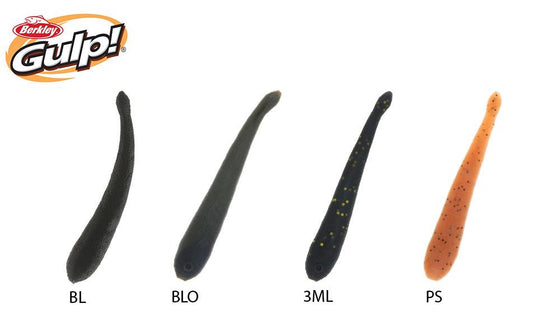 "Berkley Gulp! Leeches, 3"", Pack of 12 #GL3"