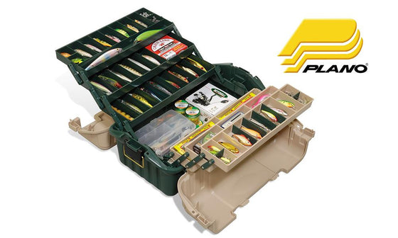 Plano 8616-00 HipRoof Six Tray Tackle Box