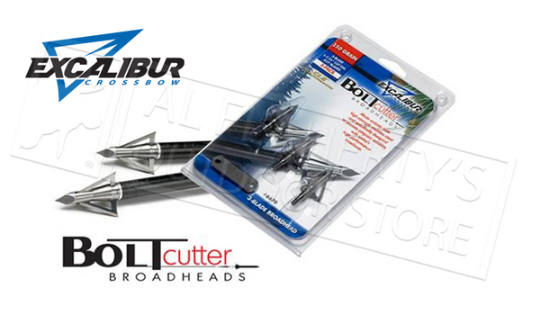 Excalibur Crossbow Boltcutter Broadheads 3-Pack 6670