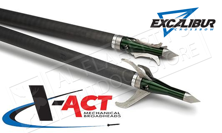 Excalibur Crossbow X-Act Mechanical Broadheads #6672