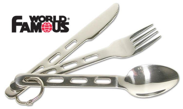 World Famous Ultralight Cutlery Set #113