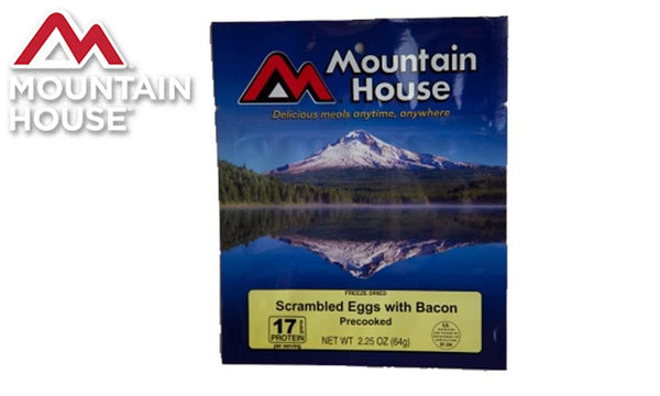 Mountain House Pouch, Scrambled Eggs with Bacon #53447