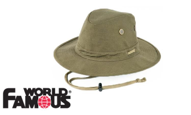 WFS Outback Hat - Olive Green #5134