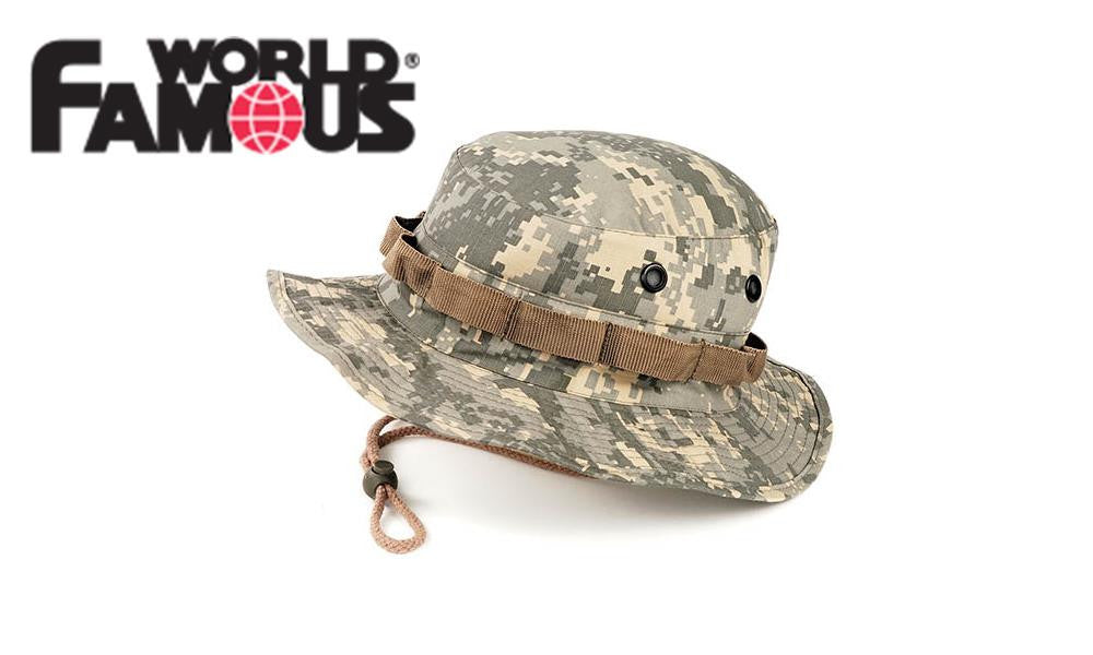 World Famous Boonie Cap in Digital Camo #7367