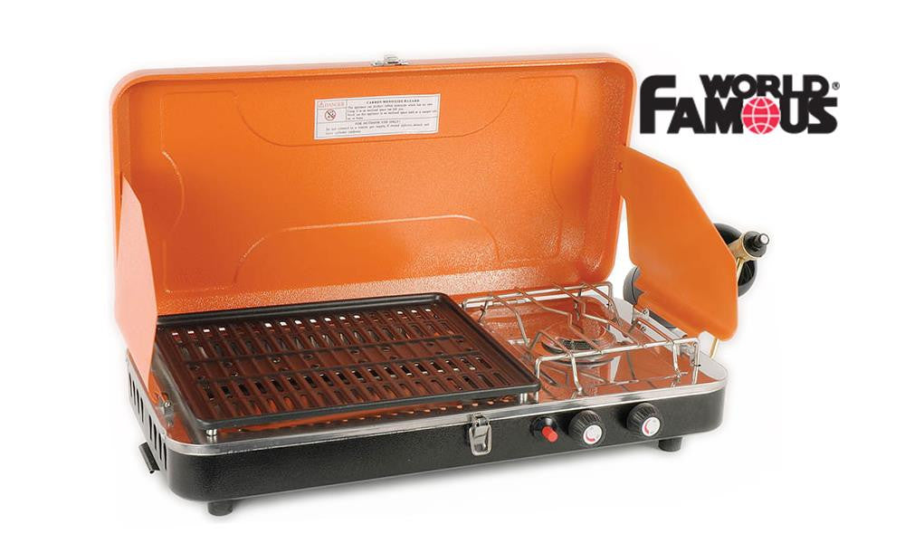World Famous Propane Stove & Grill Camp Stove #2802
