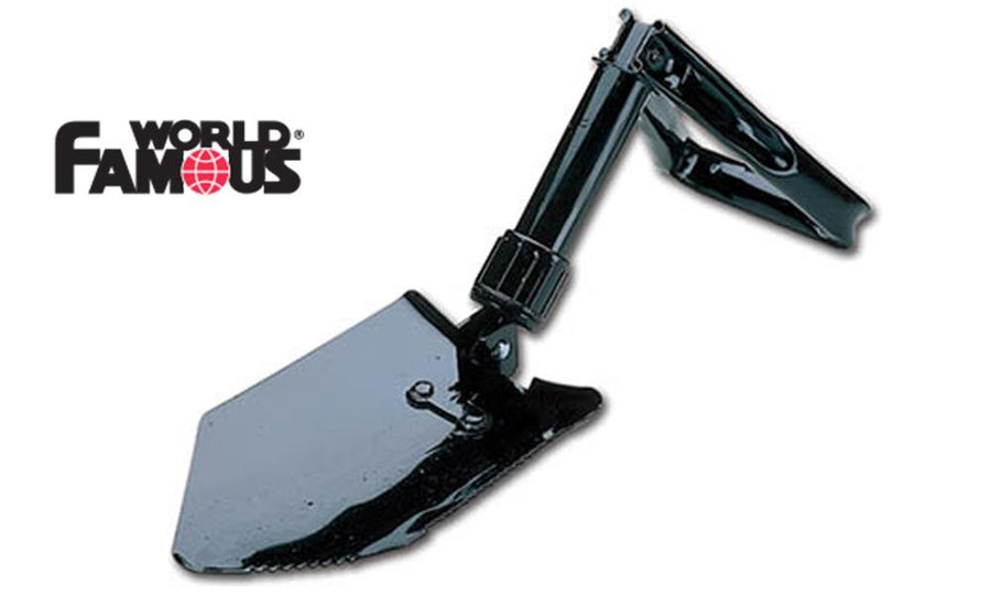 "World Famous Two Way Folding Shovel, 9"" to 23.5"" Extended #174"