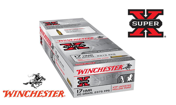 <b>(Store Pickup Only)</b><br>Winchester Super X, 17 HMR XTP  JHP, 20 Grain Box of 50 #X17HMR1