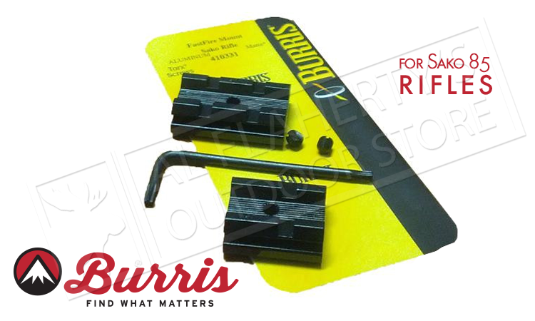 Burris Fastfire Base Sako to Weaver 410331