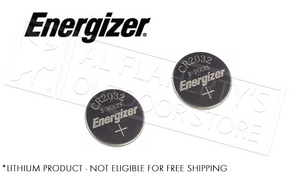 Energizer Lithium 2032 Batteries - Pack of 2 #2032BP-2N