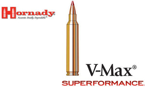 <b>(Store Pickup Only)</b><br>Hornady Superformance V-MAX .204 Ruger, 40 Grain, Box of 20 #83206