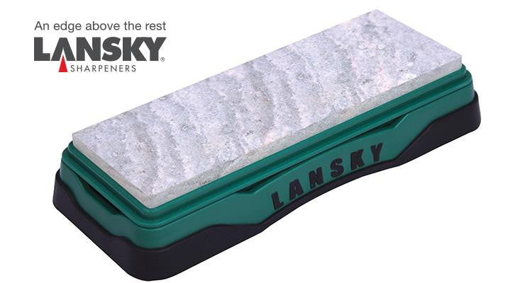 "Lansky Soft Arkansas Sharpening Bench Stone, 6""x2"" #LBS6S"