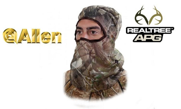 Allen Full Mesh Headnet Realtree APG 17516