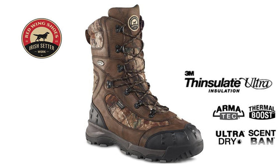 Irish Setter Hunting Boots Snow Claw XT 3888