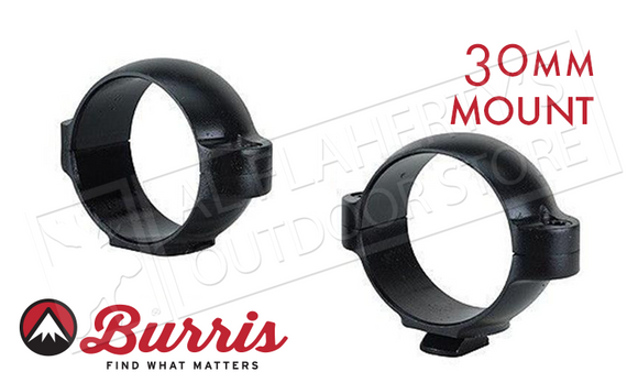 Burris Standard Rings 30mm Low 420319