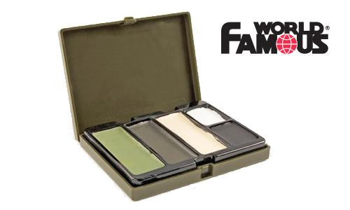 WFS Camouflage Face Paint Kit, 5 Colors #2330