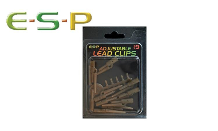 E-S-P Adjustable Lead Clips, 10 Pack #ESBC09