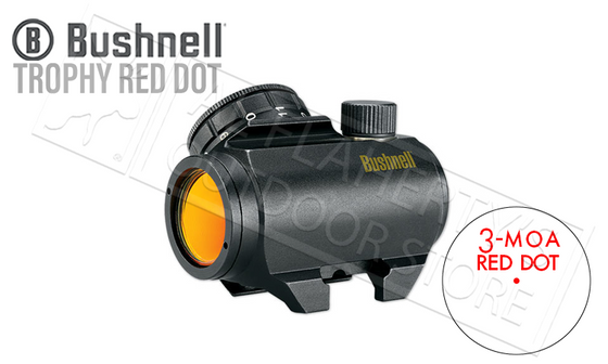 Bushnell Trophy Red Dot TRS-25 1x25mm 3-MOA Reticle #731303