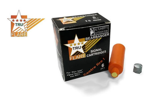TruFlare Bearbangers, 15mm Centerfire, Pack of 6 #05225