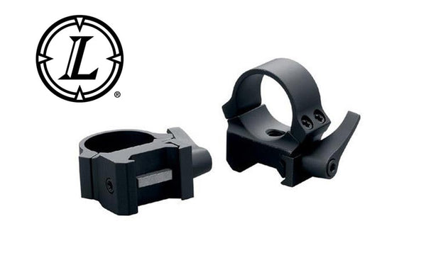 Leupold QRW Scope Rings 1 Inch Low, Matte Black #49853