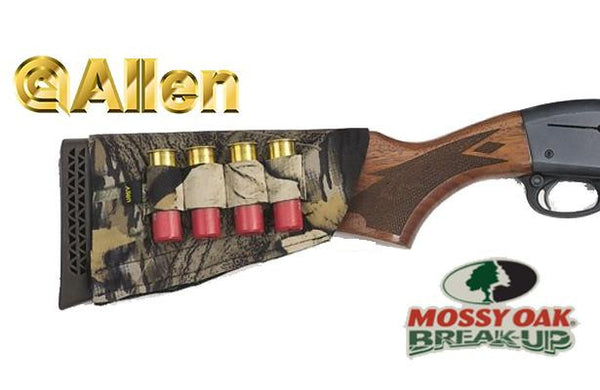 Allen Buttstock Shell Holder for Shotgun Mossy Oak Break-Up 20143