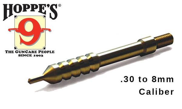 Hoppe's Elite Pierce Point Cleaning Jags - .30 to 8mm Caliber #EPP30