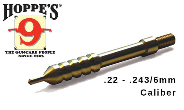 Hoppe's Elite Pierce Point Cleaning Jags - .22 to .243/6mm Caliber #EPP22