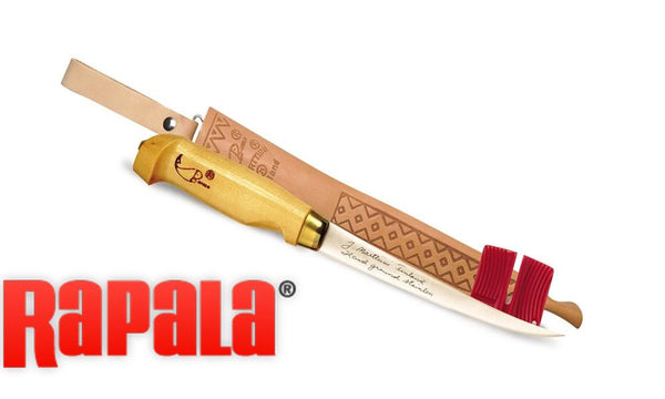 Rapala Fish 'N Fillet Knife Combo with Sharpener #BPFNF6SH1