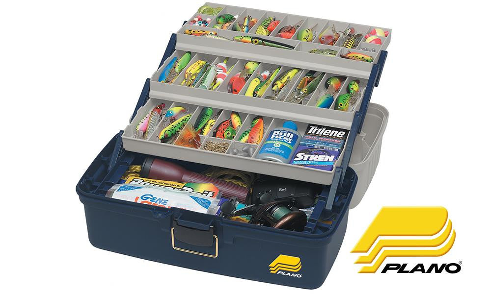 Plano 6133-06 Extra Large Three Tray Tackle Box