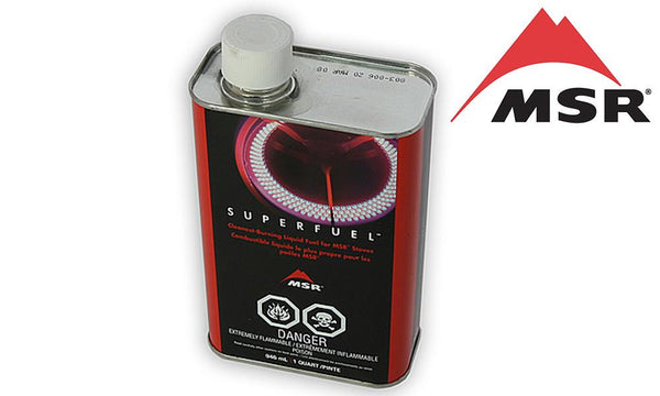 <b>(Store Pickup Only)</b><BR>MSR Superfuel White Gas, 1 Quart / .95 Liters #322020