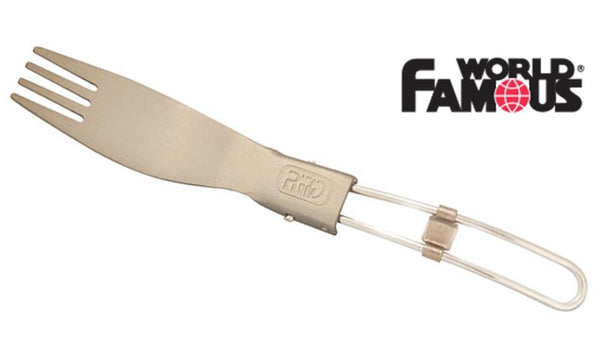 World Famous Hard Anodized Folding Fork #1244