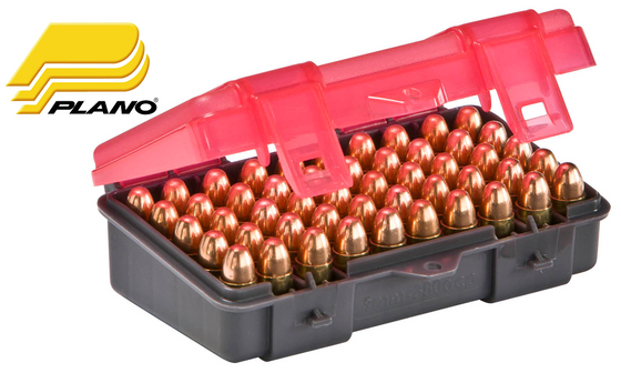 Plano Shell box for 9mm, 50 Rounds 1224-50