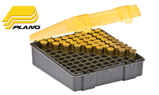 Plano 100-Round Shell Box for Large Handgun Calibers 1226-00