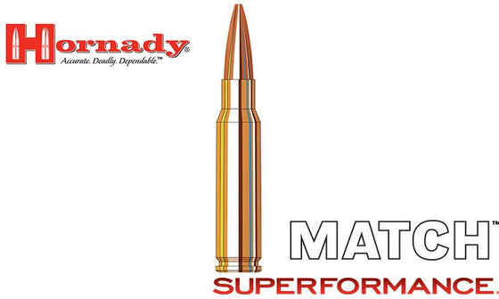 <b>(Store Pickup Only)</b><br>Hornady Superformance Match BTHP 308 WIN, 178 Grain, Box of 20 #8077