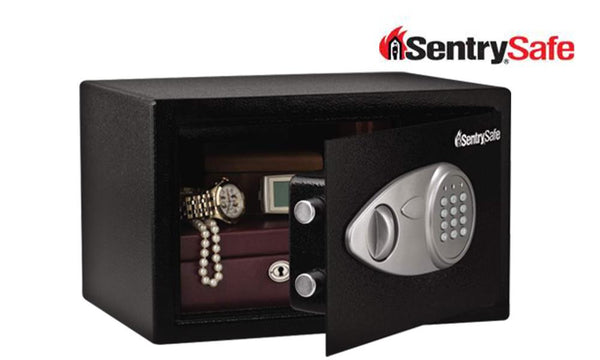 Sentry Safe Medium Key Lock & Electronic Security Safe #X055