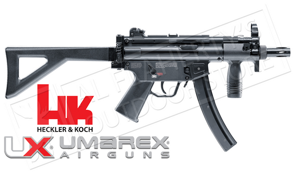 Umarex #2252330 Air Gun HK MP5 K-PDW .177 BB 400FPS